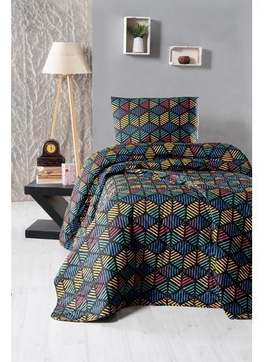 For Home Tek Kişilik Yatak Örtüsü Seti Octet Renkli